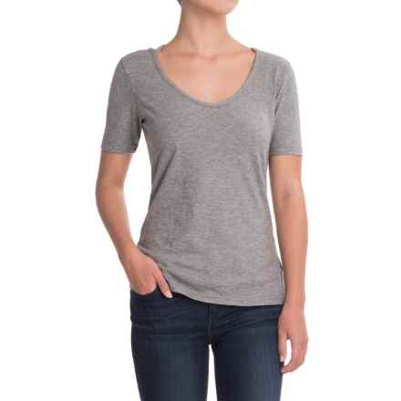 Outdoor Research Camila T-Shirt - Organic Cotton, Short Sleeve (For Women) in Pewter - Closeouts