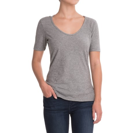Outdoor Research Camila T-Shirt - Organic Cotton, Short Sleeve (For Women) in Pewter