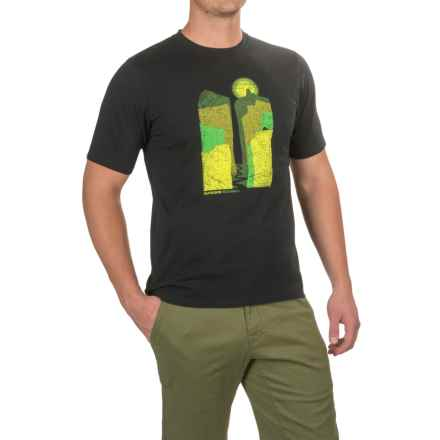 Outdoor Research Canyonlands T-Shirt - Organic Cotton, Short Sleeve (For Men) in Black - Closeouts