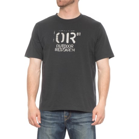 Outdoor Research Cargo T-Shirt - Short Sleeve (For Men) in Black