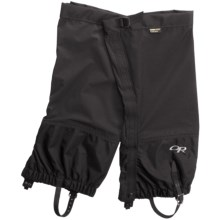 Outdoor Research Cascadia Gore-Tex® PacLite® Gaiters - Waterproof in Black - Closeouts