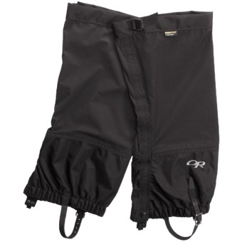 Outdoor Research Cascadia Gore-Tex® PacLite® Gaiters - Waterproof in Black