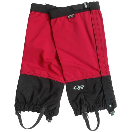 Outdoor Research Cascadia Gore-Tex® PacLite® Gaiters - Waterproof in Chili