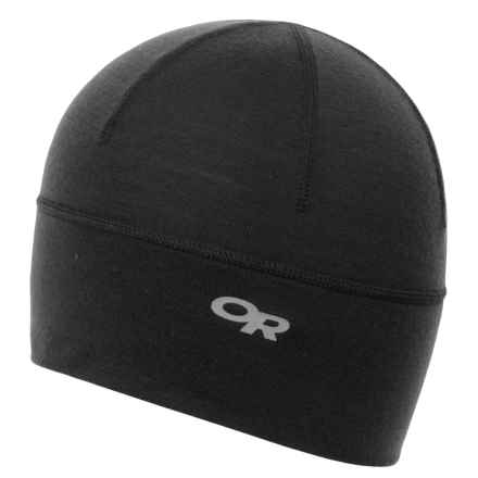 Outdoor Research Catalyzer Beanie (For Men) in Black - Closeouts