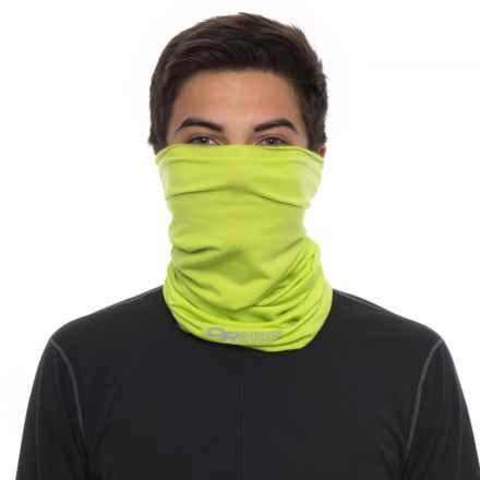 Outdoor Research Catalyzer Ubertube Neck Gaiter - Merino Wool (For Men and Women) in Lemongrass - Closeouts