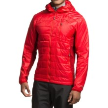 Outdoor Research Cathode PrimaLoft® Gold Hooded Jacket - Insulated (For Men) in Hot Sauce/Redwood - Closeouts