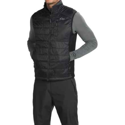 Outdoor Research Cathode PrimaLoft® Vest - Insulated (For Men) in Black/Charcoal - Closeouts