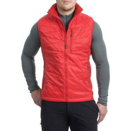 Outdoor Research Cathode PrimaLoft® Vest - Insulated (For Men) in Hot Sauce/Agate - Closeouts