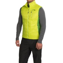 Outdoor Research Cathode PrimaLoft® Vest - Insulated (For Men) in Lemongrass/Leaf - Closeouts