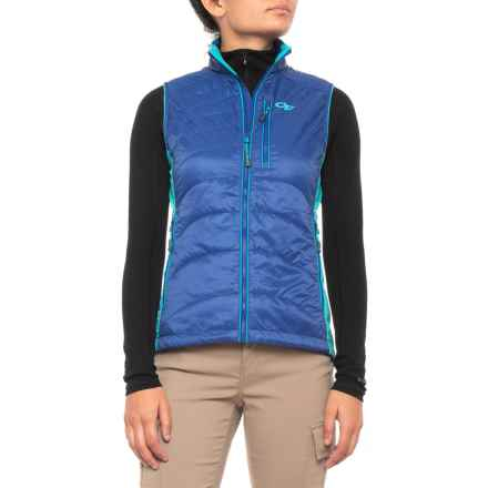 Outdoor Research Cathode Vest - Insulated (For Women) in Baltic/Typhoon - Closeouts
