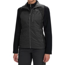 Outdoor Research Cathode Vest - Insulated (For Women) in Black/Charcoal - Closeouts