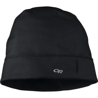 Outdoor Research Centrifuge Beanie Hat (For Men and Women) in Black