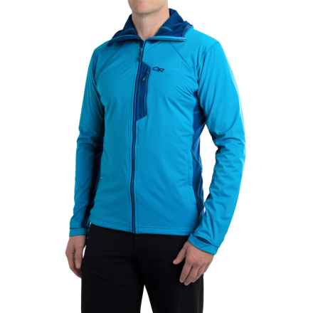 Outdoor Research Centrifuge Jacket (For Men) in Glacier/Baltic - Closeouts