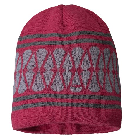 Outdoor Research Charmed Beanie Hat (For Women) in Trillium/Alloy