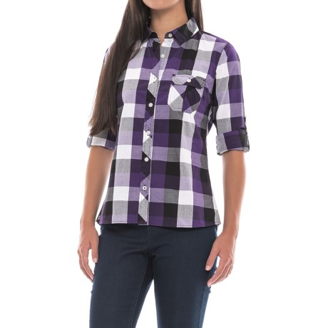 Outdoor Research Chelsea Shirt - Long Sleeve (For Women) in Elderberry
