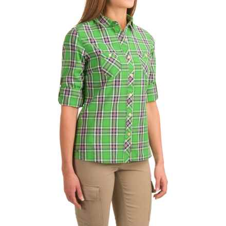 Outdoor Research Cierra Shirt - Roll-Up Long Sleeve (For Women) in Bamboo - Closeouts