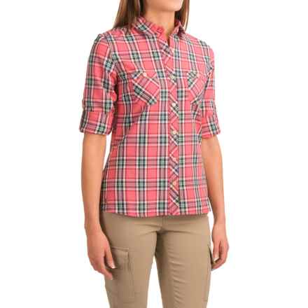 Outdoor Research Cierra Shirt - Roll-Up Long Sleeve (For Women) in Desert Sunrise - Closeouts