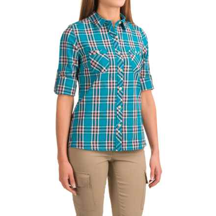 Outdoor Research Cierra Shirt - Roll-Up Long Sleeve (For Women) in Hydro - Closeouts