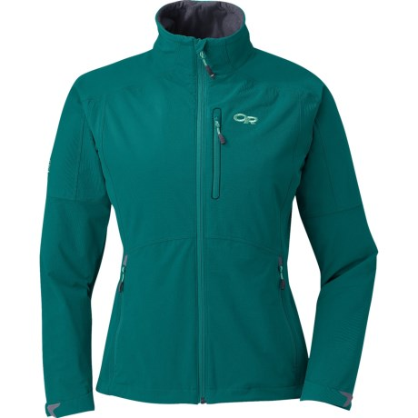 photo: Outdoor Research Women's Circuit Jacket soft shell jacket