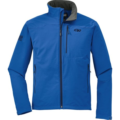 Outdoor Research Cirque  Soft Shell Jacket (For Men) in Glacier