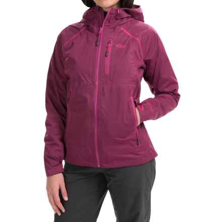 Outdoor Research Clairvoyant Gore-Tex® Jacket - Waterproof (For Women) in Sangria - Closeouts