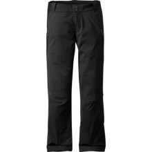 Outdoor Research Conviction Pants - Soft Shell (For Women) in Black - Closeouts