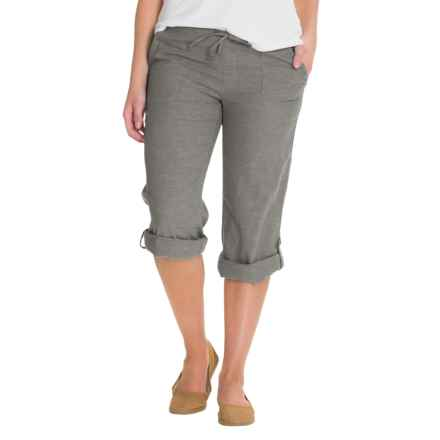 Outdoor Research Coralie Pants - Hemp-Organic Cotton (For Women) in Charcoal - Closeouts