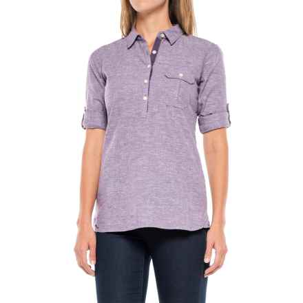 Outdoor Research Coralie Shirt - Hemp-Organic Cotton, Long Sleeve (For Women) in Fig - Closeouts