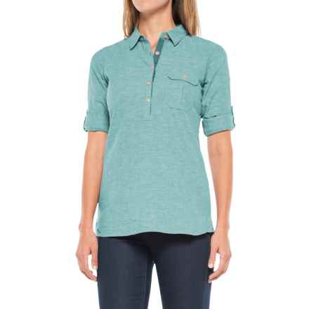 Outdoor Research Coralie Shirt - Hemp-Organic Cotton, Long Sleeve (For Women) in Ice - Closeouts