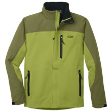 Outdoor Research Credo Jacket - Soft Shell (For Men) in Avocado/Olive - Closeouts