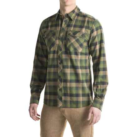 Outdoor Research Crony Flannel Shirt - Organic Cotton, Long Sleeve (For Men) in Kale - Closeouts