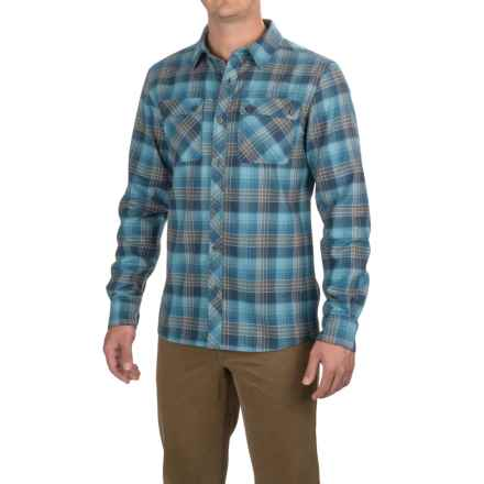 Outdoor Research Crony Flannel Shirt - Organic Cotton, Long Sleeve  (For Men) in Vintage - Closeouts