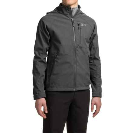 Outdoor Research Deadbolt Hooded Jacket (For Men) in Charcoal - Closeouts