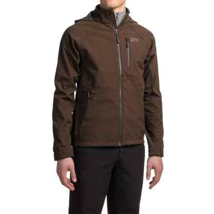 Outdoor Research Deadbolt Hooded Jacket (For Men) in Earth - Closeouts