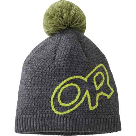Outdoor Research Delegate Beanie Hat - Merino Wool (For Men and Women) in Charcoal - Closeouts