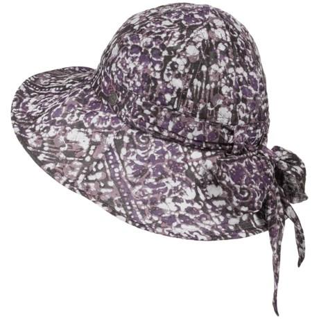 Outdoor Research Delray Sun Hat - Cotton (For Women) in Elderberry