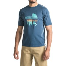 Outdoor Research Descender T-Shirt - Short Sleeve (For Men) in Dusk - Closeouts