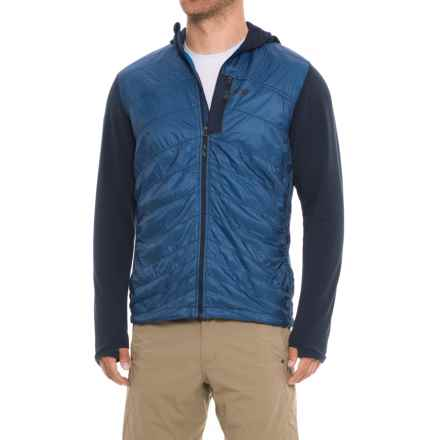 Outdoor Research Deviator Jacket - Insulated (For Men) in Night/Hydro - Closeouts