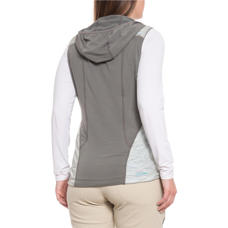 Hooded Outdoor Vestfor Deviator Alpha® Research Polartec® Women SzqVUMp