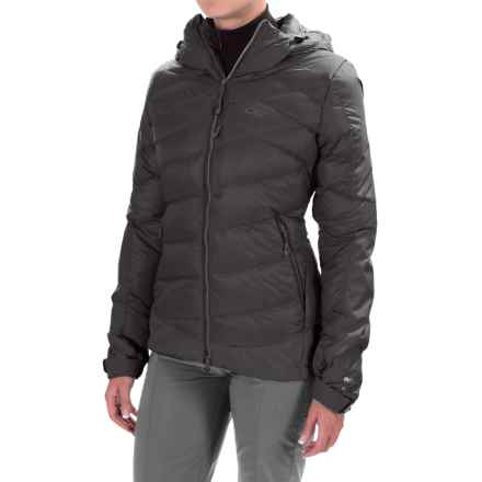 Outdoor Research Diode Hooded Down Jacket - Insulated (For Women) in Black - Closeouts
