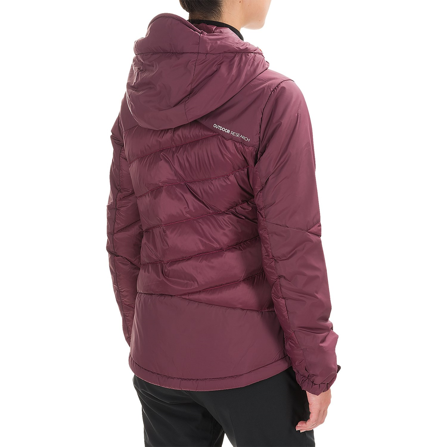 a975b841c3 ... Outdoor Research Diode Hooded Down Jacket - Insulated (For Women) Mens  Featherweight Windshirt jacket TNF ...