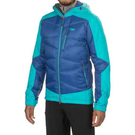 Outdoor Research Diode Hooded Jacket - Insulated (For Men) in Baltic/Typhoon - Closeouts