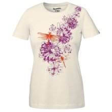 Outdoor Research Dragonfly T-Shirt - Organic Cotton, Short Sleeve (For Women) in White - Closeouts