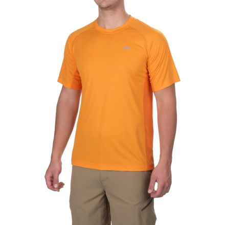 Outdoor Research Echo Duo T-Shirt - UPF 15, Short Sleeve (For Men) in Supernova/Bengal - Closeouts