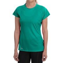 Outdoor Research Echo Graphic T-Shirt - UPF 15, Short Sleeve (For Women) in Aquarium/Atlantis - Closeouts
