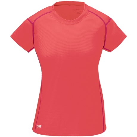 Outdoor Research Echo Shirt - UPF 15, Short Sleeve (For Women) in Nectar