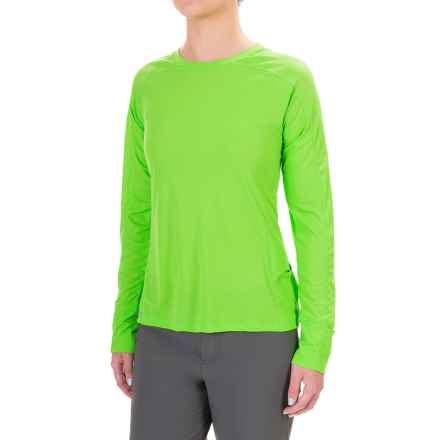 Outdoor Research Echo T-Shirt - UPF 15, Long Sleeve (For Women) in Apple/Laurel - Closeouts
