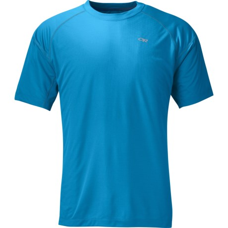 Outdoor Research Echo T-Shirt - UPF 15, Short Sleeve (For Men) in 757 Hydro