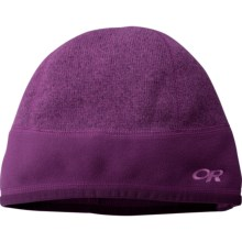 Outdoor Research Endeavor Fleece Beanie Hat (For Men and Women) in Orchid - Closeouts