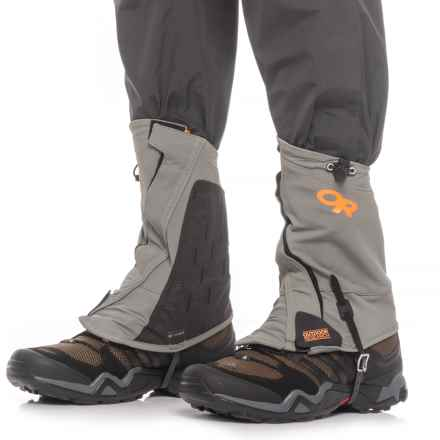 Outdoor Research Endurance Gaiters (For Men and Women) in Pewter/Ember - Closeouts